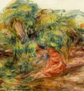 Two Woman in a Garden
