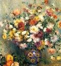 vase of chrysanthemums 1880