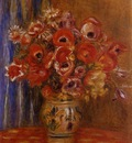 Vase of Tulips and Anemones