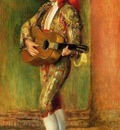 Young Guitarist Standing 1897 Private collection