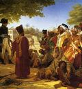 napoleon pardoning the rebels at cairo large