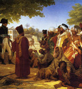 napoleon pardoning the rebels at cairo large