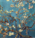 branches with almond blossom 1890
