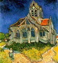 church at auvers aka the church at auvers