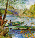 fishing in the spring pont de clichy