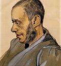 portrait of boekverkoper blok