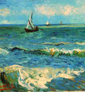 seascape at saintes maries