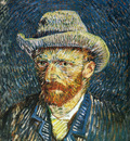 self portrait with felt hat 1887
