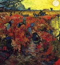 The Red Vineyard in Arles