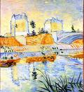The Seine with the Pont de Clichy