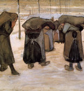 woman miners carrying coal