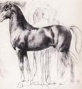 Etude pour Semiramis construsiant Babylone Dessin Crayon noir sur estompe 267x348 cm Paris musee du Louvre