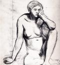 Etude pour Scene de guerre au Moyen Age Dessin Crayon noir 321x276 cm Paris musee du Louvre