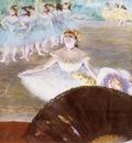Le Ballet Pastel sur monotype 40x50 cm Providence Rhode Island School of Design