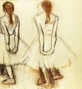 Etude pour la Petite danseuse de quatorze ans Craie et pastel 46x57 cm Londres Collection particuliere