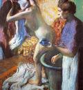 Le petit dejeuner a la sortie du bain Pastel 121x92 cm Londres Collection particuliere