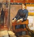 Helene Rouart dans le bureau de son pere Madame Marin Huile sur Toile Londres National Gallery
