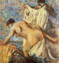 Femme sortant du bain Pastel 95x81 cm Soleure Kunstmuseum