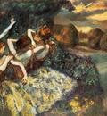 En attendant l entree en scene Huile sur Toile 151x180 cm Washington national Gallery of Art