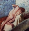 After the Bath 1896 Private collection Painting oil on canvas