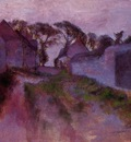 At Saint Valery sur Somme circa 1896 1898 Ny Carlsberg Glyptotek Denmark Painting oil on canvas