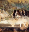 Ballet at the Paris Opers 1877 The Art Institute of Chicago United States Drawing pastel