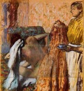Breakfast after Bath circa 1893 1898 Kunstmuseum Winterthur Switzerland pastel