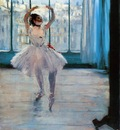 Dancer Posing 1878 Pushkin Museum of Fine Arts Russia oil on canvas