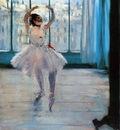 Dancer Posing 1878 Pushkin Museum of Fine Arts Russia oil on canvas