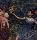 Dancer and Tambourine circa 1897 Private collection oil on canvas