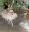 Dancers 1878 Private collection oil on canvas