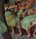Dancers 1898 Private collection oil on canvas
