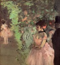Dancers Backstage 1872 National Gallery of Art Washington USA oil on canvas