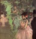 Dancers Backstage 1872 National Gallery of Art Washington USA oil on canvas