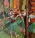Dancers Pink and Green circa 1885 1895 Metropolitan Museum of Art USA