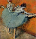 Dancers at the Barre circa 1900 1905 The Phillips Collection USA oil on canvas