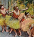 Dancers in Green and Yellow 1899 1904 Solomon R  Guggenheim Museum USA