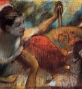 Dancers in a Box circa 1884 Glasgow Art Gallery and Museum Scotland pastel