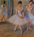 Dancers in the Studio circa 1884 PC