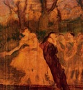 Dancers on the Scenery circa 1889 PC