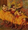 Four Dancers also known as Quatre danseuses circa 1903 PC