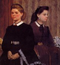 Giovanna and Giulia Bellelli circa 1865 1866 Los Angeles County Museum of Art USA