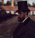 Henri Rouart in front of His Factory circa 1875 Carnegie Museum of Art USA