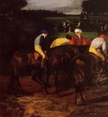 Jockeys at Epsom 1861 1862 PC
