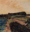 Landscape on the Orne circa 1884 PC