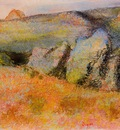 Landscape with Rocks 1890 1893 PC