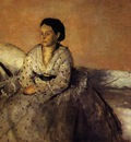 Madame Rene De Gas 1872 1873 National Gallery of Art Washington USA