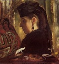 Mademoiselle Marie Dihau circa 1868 Metropolitan Museum of Art USA