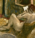 Nude from the Rear Reading circa 1880 1885 PC