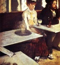The Absinthe Drinker 1876 Musee d Orsay France
